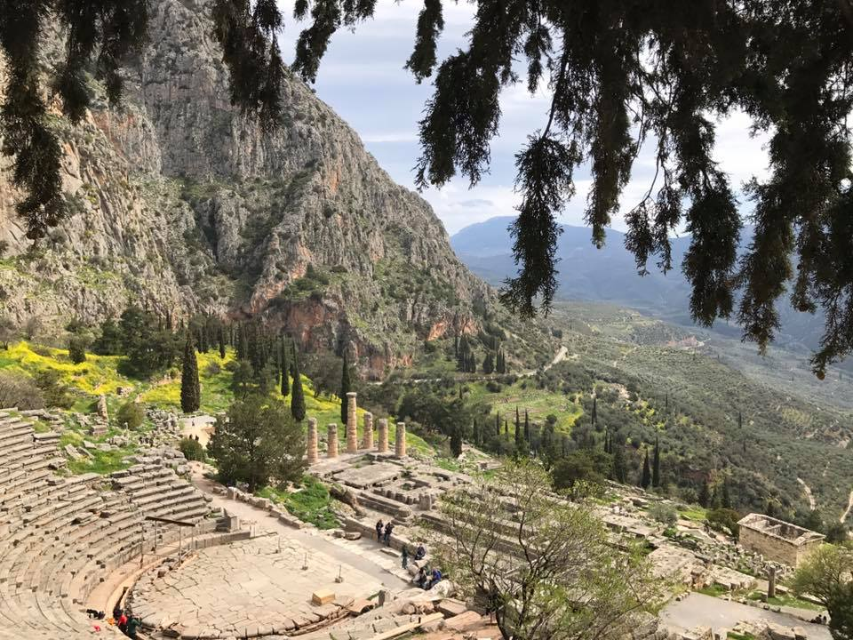 Driving to Delphi: Home of the Oracle